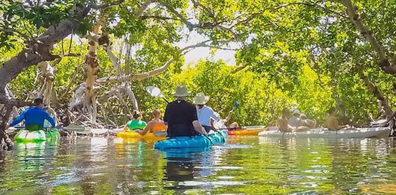 Sebago Kayak Tour